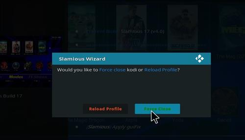 How to Install Slamious Kodi Build with Screenshots step 21