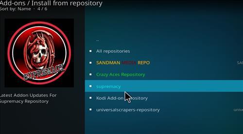 How to Install Supremacy Kodi Wizard with Screenshots step 15