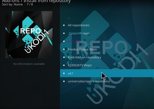 How to Install Ukodi1 Kodi Wizard with Screenshots step 15