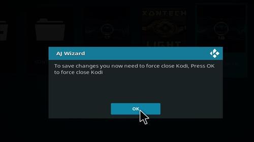 How to Install Xontech Kodi Build 18 Leia step 26