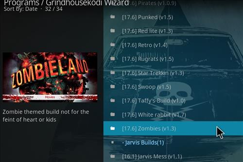 How to Install Zombies Kodi Build with Screenshots step 23