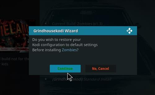 How to Install Zombies Kodi Build with Screenshots step 25