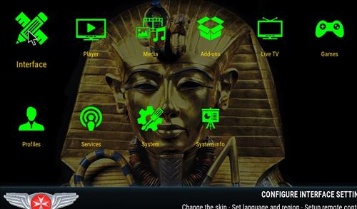 How to change the Skin back to Default Estuary ancient egypt step 2