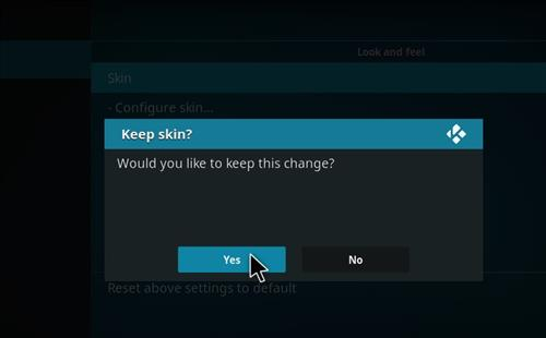 How to change the Skin back to Default Estuary attractions step 5