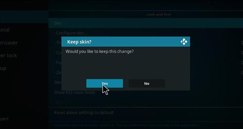 How to change the Skin back to Default Estuary blue magic step 5