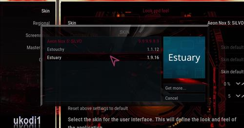 How to change the Skin back to Default Estuary dawn of the future step 4