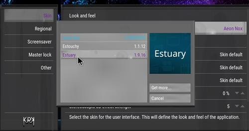How to change the Skin back to Default Estuary passion step 4