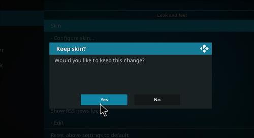 How to change the Skin back to Default Estuary xontech step 5