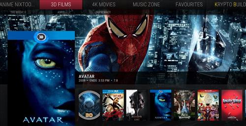 Top Best Working KODI Build List October 2018 muse pic 2