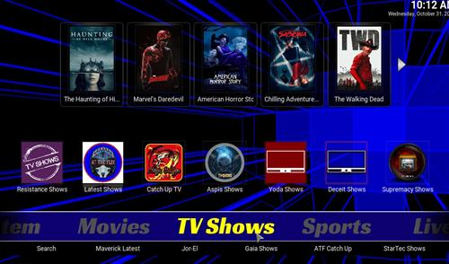 Top Best Working KODI Build List October 2018 slamious 17 pic 3