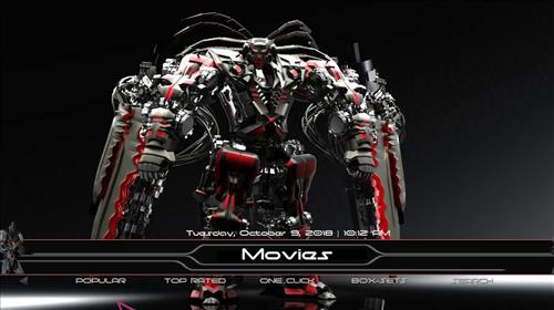 best Kodi Build Dawn of the future pic 1