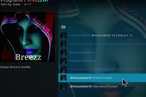How to Install Breezz Base Kodi Build 18 Leia step 23