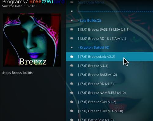 How to Install Breezzdark Kodi Build with Screenshots step 22