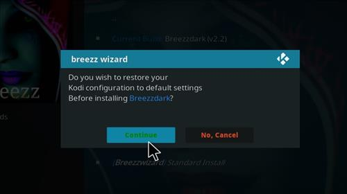 How to Install Breezzdark Kodi Build with Screenshots step 24