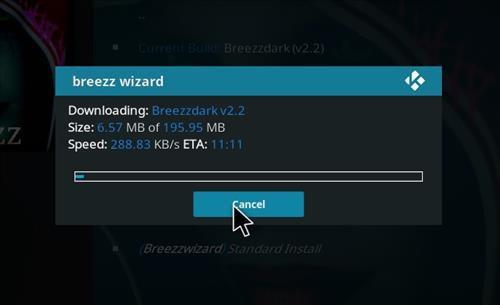 How to Install Breezzdark Kodi Build with Screenshots step 25