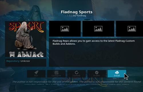 How to Install Fladnag Sports Kodi Add-on with Screenshots step 18