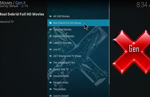 How to Install Gen-X Kodi Add-on with Screenshots pic 2