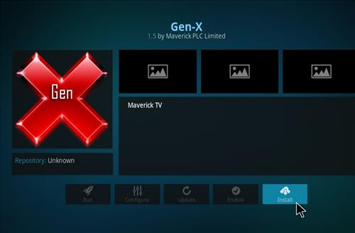 How to Install Gen-X Kodi Add-on with Screenshots step 18