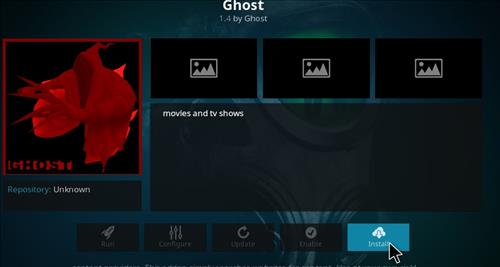 How to Install Ghost Kodi Add-on with Screenshots step 18