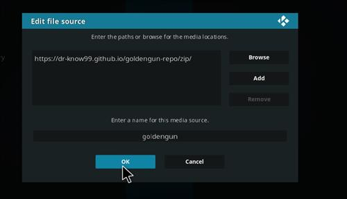 How to Install Ghost Kodi Add-on with Screenshots step 7