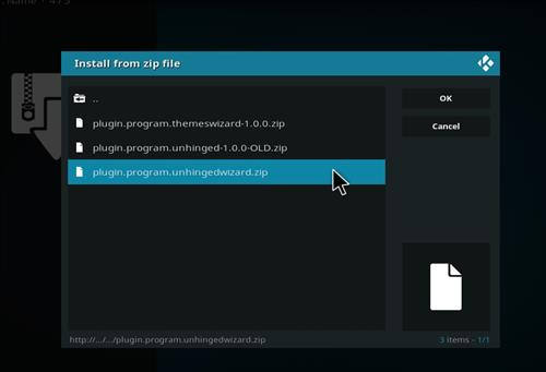 How to Install Insight Kodi 18 Build Leia step 12