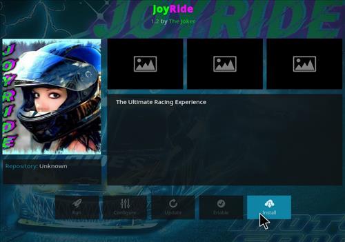 How to Install JoyRide Kodi Add-on with Screenshots step 18
