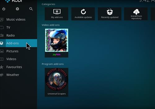 How to Install JoyRide Kodi Add-on with Screenshots step 8
