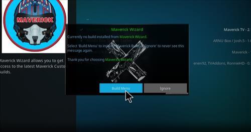 How to Install Maverick Kodi 18 Build Leia step 21