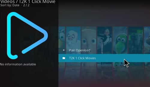 How to Install T2K 1 Click Movie Kodi Add-on with Screenshots pic 2