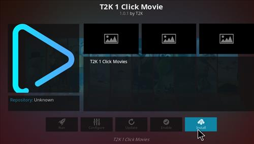 How to Install T2K 1 Click Movie Kodi Add-on with Screenshots step 18