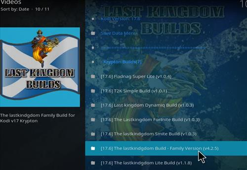 How to Install The Lastkingdom Kodi Build with Screenshots step 23