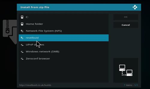 How to Install The Revelation Family Kodi Build with Screenshots step 11
