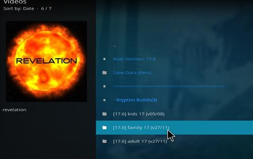 How to Install The Revelation Family Kodi Build with Screenshots step 16