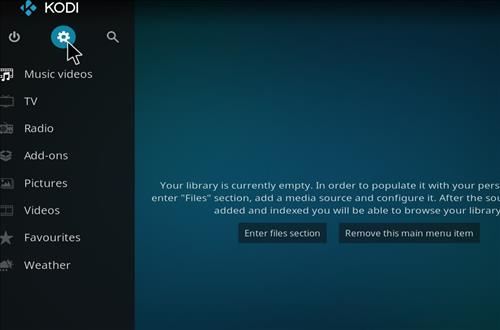 How to Install Vodka Kodi Build Blue Label with Screenshots step 1