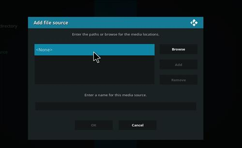 How to Install Vodka Kodi Build Blue Label with Screenshots step 4