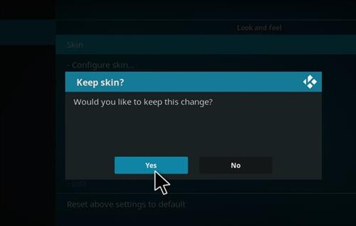 How to change the Skin back to Default Estuary slamious step 5