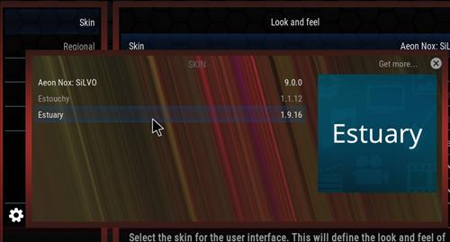 How to change the Skin back to Default Estuary vodka step 4