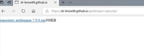 manual and download goldengun repo step 1