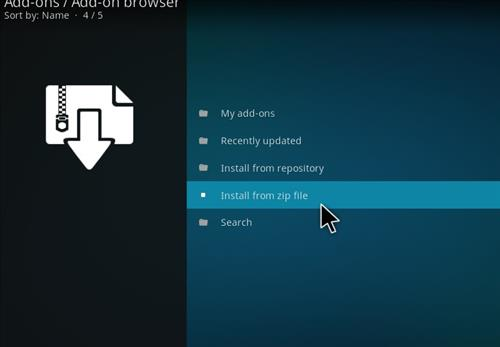 How to Install Death from Above Kodi Add-on with Screenshots step 10