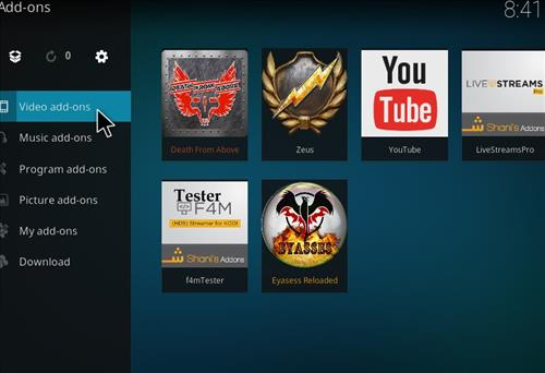 How to Install Death from Above Kodi Add-on with Screenshots step 15