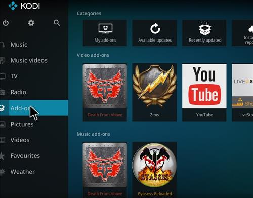 How to Install Death from Above Kodi Add-on with Screenshots step 8
