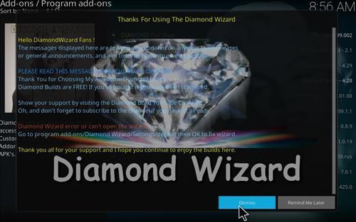 How to Install Diamond Kodi Build 18 Leia step 21