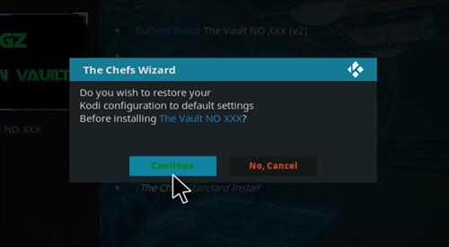 How to Install Diggz Krypton Vault Build with Screenshots step 27