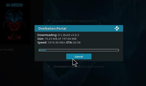 How to Install D's Kodi Build with Screenshots step 20