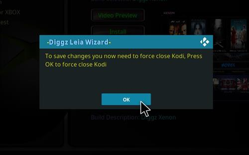 How to Install Eminence Kodi 18 Build Leia step 27