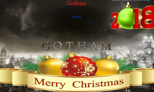 How to Install Gotham Xmas Kodi Build with Screenshots pic 1