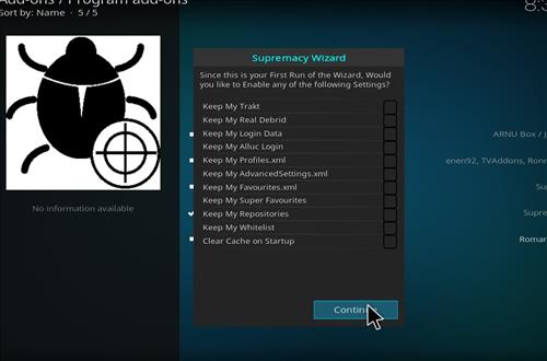 How to Install Gotham Xmas Kodi Build with Screenshots step 21