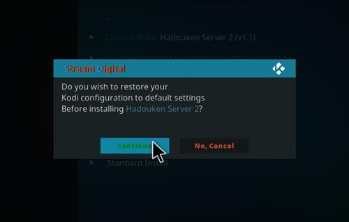 How to Install Hadouken Kodi Build with Screenshots step 19