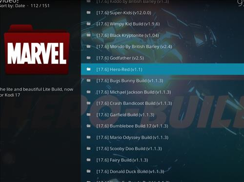 How to Install Hero-Red Kodi Build with Screenshots step 17