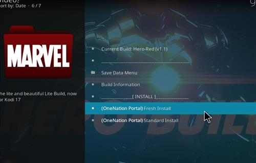 How to Install Hero-Red Kodi Build with Screenshots step 18